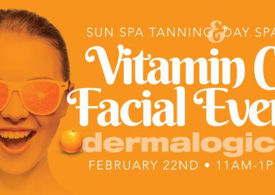Vitamin C Facial Event